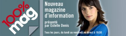 M6 - 100% Mag : documentaire sur Love intelligence, et invitation sur le plateau d'Estelle Denis