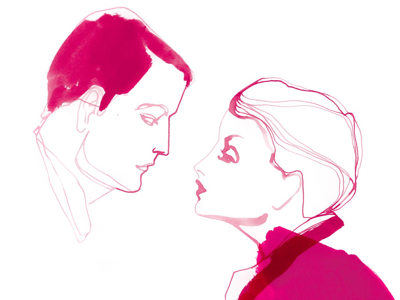 rencontre intime de deux personnes synonyme lier